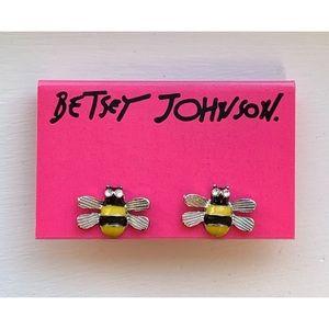 Betsey Johnson Bumblebee Earrings
